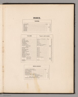 Table of Contents: Index.