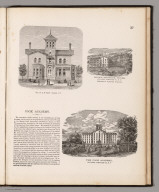 View: Properties of E.W. Cook. Schuyler County, New York.