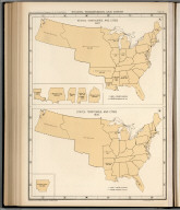 Plate 62. States, Territories and Cities, 1820 - 1830.