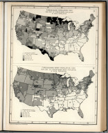 Plate 72. Population. Foreign-Born Population, 1900 - 1930.