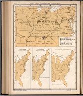 Plate 80. Population: Colleges and Universities 1775 - 1830. Centers of Population.