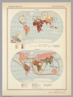 Education, Food Supply. Pergamon World Atlas.