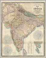 Stanford's Map Of India.