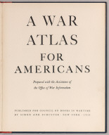 Title Page: A War Atlas for Americans