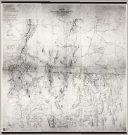 Military Map of the U.S. West
