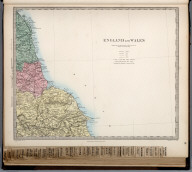 England and Wales. England No. 1., The Family Atlas Containing Eighty Maps, Constructed By Eminent Geographers, And Engraved On Steel, Under The Superintendence Of The Society For The Diffusion Of Useful Knowledge, Including The Geological Map Of England And Wales, By Sir I. Murchison, F.R.S., The Star Maps By Sir John Lubbock, Bart. And The Plans Of London And Paris, With The New Discoveries And Other Improvements To The Latest Date. And An Alphabetical Index. London: Edward Stanford, 6, Charing Cross. 1865.