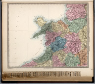 England and Wales. England No. 4., The Family Atlas Containing Eighty Maps, Constructed By Eminent Geographers, And Engraved On Steel, Under The Superintendence Of The Society For The Diffusion Of Useful Knowledge, Including The Geological Map Of England And Wales, By Sir I. Murchison, F.R.S., The Star Maps By Sir John Lubbock, Bart. And The Plans Of London And Paris, With The New Discoveries And Other Improvements To The Latest Date. And An Alphabetical Index. London: Edward Stanford, 6, Charing Cross. 1865.