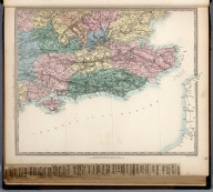 England and Wales. England No. 5., The Family Atlas Containing Eighty Maps, Constructed By Eminent Geographers, And Engraved On Steel, Under The Superintendence Of The Society For The Diffusion Of Useful Knowledge, Including The Geological Map Of England And Wales, By Sir I. Murchison, F.R.S., The Star Maps By Sir John Lubbock, Bart. And The Plans Of London And Paris, With The New Discoveries And Other Improvements To The Latest Date. And An Alphabetical Index. London: Edward Stanford, 6, Charing Cross. 1865.