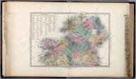 Ireland, North Sheet., The Family Atlas Containing Eighty Maps, Constructed By Eminent Geographers, And Engraved On Steel, Under The Superintendence Of The Society For The Diffusion Of Useful Knowledge, Including The Geological Map Of England And Wales, By Sir I. Murchison, F.R.S., The Star Maps By Sir John Lubbock, Bart. And The Plans Of London And Paris, With The New Discoveries And Other Improvements To The Latest Date. And An Alphabetical Index. London: Edward Stanford, 6, Charing Cross. 1865.