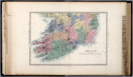 Ireland, (South) Sheet., The Family Atlas Containing Eighty Maps, Constructed By Eminent Geographers, And Engraved On Steel, Under The Superintendence Of The Society For The Diffusion Of Useful Knowledge, Including The Geological Map Of England And Wales, By Sir I. Murchison, F.R.S., The Star Maps By Sir John Lubbock, Bart. And The Plans Of London And Paris, With The New Discoveries And Other Improvements To The Latest Date. And An Alphabetical Index. London: Edward Stanford, 6, Charing Cross. 1865.
