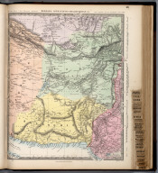 Bokhara, Afghanistan, Beloochistan, &c., The Family Atlas Containing Eighty Maps, Constructed By Eminent Geographers, And Engraved On Steel, Under The Superintendence Of The Society For The Diffusion Of Useful Knowledge, Including The Geological Map Of England And Wales, By Sir I. Murchison, F.R.S., The Star Maps By Sir John Lubbock, Bart. And The Plans Of London And Paris, With The New Discoveries And Other Improvements To The Latest Date. And An Alphabetical Index. London: Edward Stanford, 6, Charing Cross. 1865.