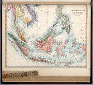 Asiatic Archipelago., The Family Atlas Containing Eighty Maps, Constructed By Eminent Geographers, And Engraved On Steel, Under The Superintendence Of The Society For The Diffusion Of Useful Knowledge, Including The Geological Map Of England And Wales, By Sir I. Murchison, F.R.S., The Star Maps By Sir John Lubbock, Bart. And The Plans Of London And Paris, With The New Discoveries And Other Improvements To The Latest Date. And An Alphabetical Index. London: Edward Stanford, 6, Charing Cross. 1865.
