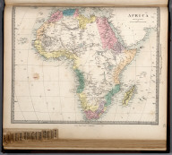 Africa., The Family Atlas Containing Eighty Maps, Constructed By Eminent Geographers, And Engraved On Steel, Under The Superintendence Of The Society For The Diffusion Of Useful Knowledge, Including The Geological Map Of England And Wales, By Sir I. Murchison, F.R.S., The Star Maps By Sir John Lubbock, Bart. And The Plans Of London And Paris, With The New Discoveries And Other Improvements To The Latest Date. And An Alphabetical Index. London: Edward Stanford, 6, Charing Cross. 1865.