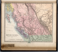 British Columbia, Vancouver Island &c., The Family Atlas Containing Eighty Maps, Constructed By Eminent Geographers, And Engraved On Steel, Under The Superintendence Of The Society For The Diffusion Of Useful Knowledge, Including The Geological Map Of England And Wales, By Sir I. Murchison, F.R.S., The Star Maps By Sir John Lubbock, Bart. And The Plans Of London And Paris, With The New Discoveries And Other Improvements To The Latest Date. And An Alphabetical Index. London: Edward Stanford, 6, Charing Cross. 1865.