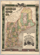 Map Of New England
