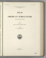 Section Title Page: (Soils). Atlas of American Agriculture.