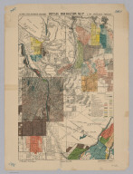 Los Angeles. Detail Irrigation Map.