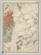 Traver and Tulare Sheet. Detail Irrigation Map.