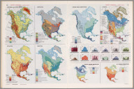 North America Thematic Maps., Man's Domain / A Thematic Atlas of the World.