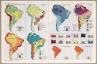 South America Thematic Maps., Man's Domain / A Thematic Atlas of the World.