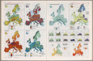 Europe (not including U.S.S.R.) Thematic Maps., Man's Domain / A Thematic Atlas of the World.