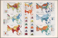 Asia Thematic Maps., Man's Domain / A Thematic Atlas of the World.
