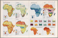 Africa Thematic Maps., Man's Domain / A Thematic Atlas of the World.