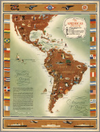 The Americas Served by American Republic Lines
