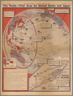 The Pacific - Vital area for United States and Japan