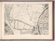 Sheet D 3 (a)., (Facsimile) Rocque's Map of London. 1746. Original map titled A plan of the cities of London and Westminster, and borough of Southwark.