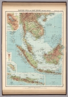 Plate 8. Farther India and East Indies - Western Section.