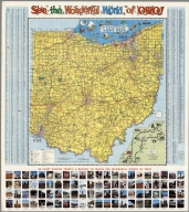 See the Wonderful World of Ohio., See the Wonderful World of Ohio. See Ohio by Auto. Ohio Department of Highways.