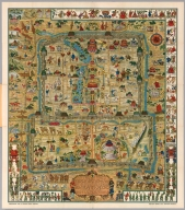 A Map and History of Peiping (Beijing).