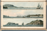 Plate 20. 1. Salermo. 2. Port of Messina. 3. Gulph of Salermo. Engrave'd for I.T. Serres's Little Sea Torch, & Pub. by him, London, 1801., The little sea torch: or, True guide for coasting pilots: by which they are clearly instructed how to navigate along the coasts of England, Ireland, France, Spain, Portugal, Italy, and Sicily; the isles of Malta, Corsica, Sardinia, and others in the straits; and of the coast of Barbary, from Cape Bon to Cape de Verd. Enriched with upwards of one hundred appearances of headlands and lighthouses. Together with plans of the principal harbors. Also a table of soundings, and various explanatory remarks. ... Translated from the French of Le Sieur Bougard, with corrections and additions, by J. T. Serres ... London: Published for the author, by J. Debett, Piccadilly; and also by Messrs, G. and W. Nicol, Booksellers to his Majesty ... 1801. Printed by T. Rochaby, Peterborough-Court, Fleet-Street., Plate 20. 3 Views