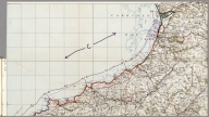 (Shoreline Type (cliff, sand, steep, flat, etc.). (Index Map) (Index of Images (Numbers 182-216)).