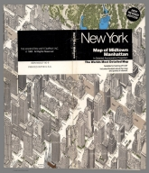 (Title Pge to) Map of Midtown Manhattan in Detailed Axonometric Projection. Compiled, prepared and published by the Manhattan Map Company, Inc. (Copyright) 1985. (inset) Madison Square Garden district. (cover title) New York. Map of Midtown Manhattan in Detailed Axonometric Projection. The worlds most detail map. New revised edition. Published by the Manhattan Map Company, Inc., 31 East 28th Street, New York, N.Y. 10016. Exported by Topika Business Machines Sales Corp. 521 5th Ave., New York, NY 10175.