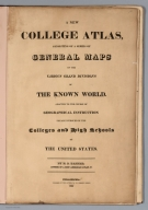 Title: A New College Atlas.