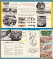 (Covers to) Grand Canyon Boulder Dam Tours Inc. By Air, By Water, By Land., Grand Canyon Boulder Dam Tours Inc. By Air, By Water, By Land., Covers: Grand Canyon Boulder Dam Tours Inc. By Air, By Water, By Land.