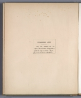 Half Title Page Verso: Publisher's Note.