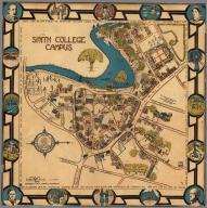 A Map of Smith College Campus 1928