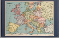 Europe. The Whitney-Graham Co. Inc. Copyright in the United States of America, 1926, by the Encyclopedia Britannica Inc. 5-26. (to accompany) The blue book of map making : America's map makers. R.W.C. The Whitney-Graham Co. Inc., The blue book of map making : America's map makers. R.W.C. The Whitney-Graham Co. Inc., Europe