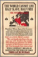The World Cannot Live Half Slave, Half Free : The Prussian Blot