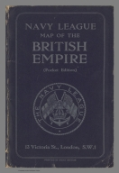 Covers: Navy League map of the British Empire (Pocket edition)