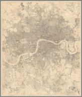 Composite Map: Sheets 1-24. (Stanford's Library Map of London and Its Suburbs.)