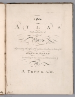 Title Page: A New Atlas Or a Compleat (sic) Set of Maps