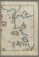 fol. 62b Sea of Marmara and the islands of the eastern Aegean Sea from Semendrek as far as Chios
