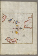 fol. 109b Small islands in the region of Naxos and Amorgos in the southeastern Aegean Sea