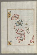 fol. 161a Small islands northwest of the island of Pag