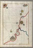 fol. 183b Coastline from Marano to Caorle in the province of Venice