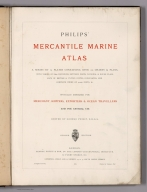 Title Page: Philips' Mercantile Marine Atlas
